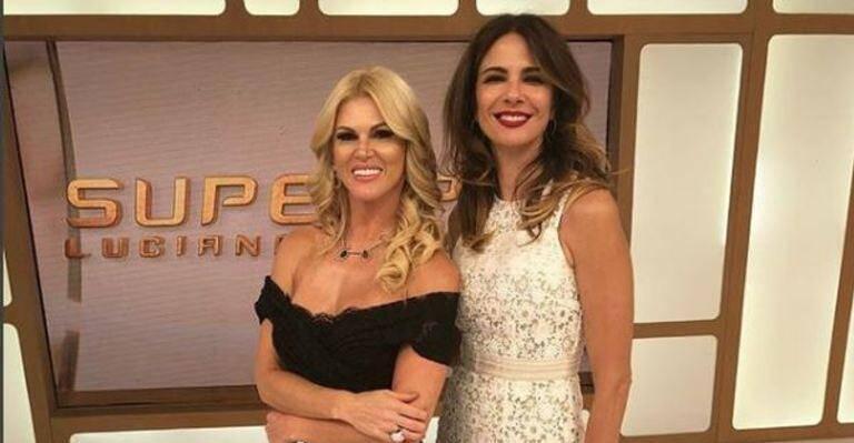 A briga entre Luciana Gimenez e Val Machiori é antiga, mas nesta quinta (02) a apresentadora rebateu as críticas da soliacite, dizendo que só fala com gente do seu nível. Foto: Divulgação/RedeTV!