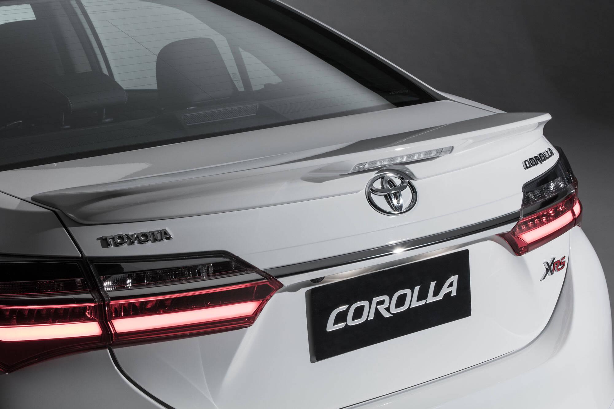 Toyota Corolla XRS. Foto: Divulgação/Toyota