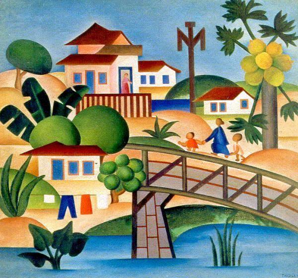 """Tarsila do Amaral: """"Ela queria ser a pintora do Brasil"""", diz sobrinha-neta da artista. Foto: Acervo/Tarsila do Amaral"""