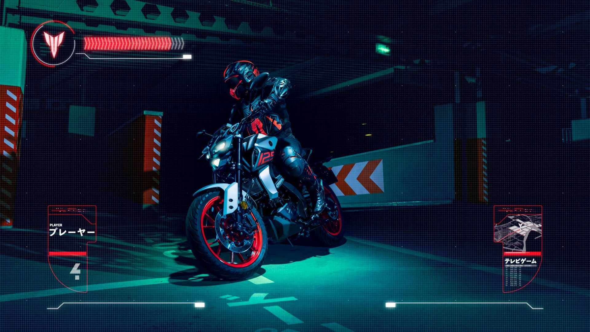 Yamaha MT-125. Foto: Divulgação