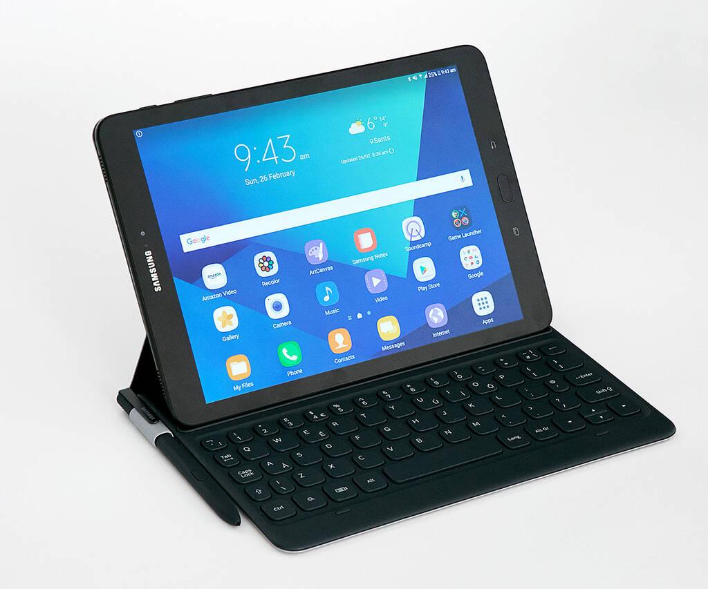 Samsung utilizou MWC 2017 para apresentar o Galaxy Tab S3. Foto: Divulgação