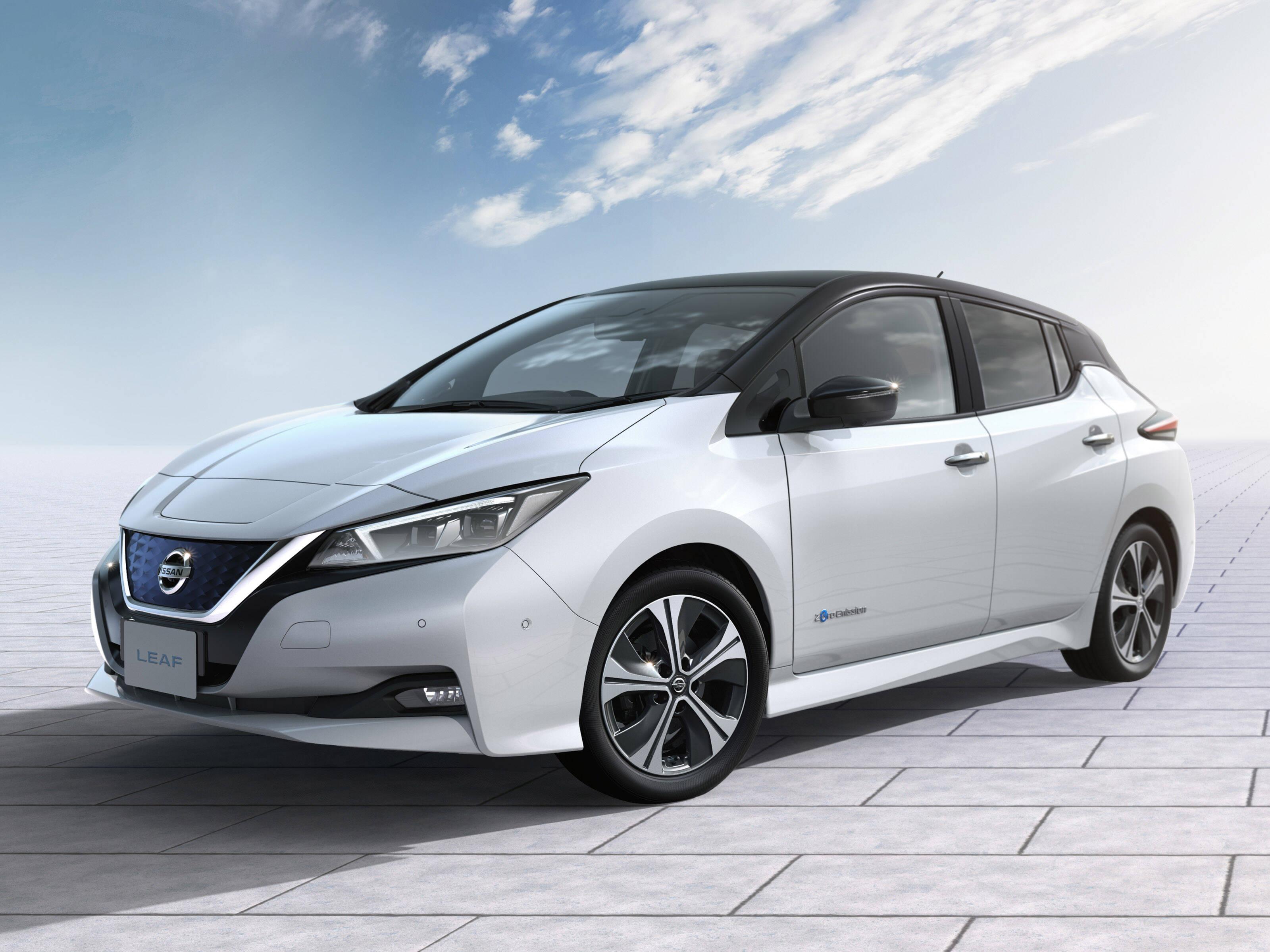 Nissan Leaf. Foto: Divulgação