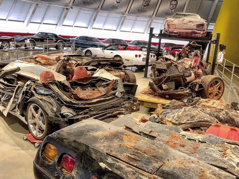 Chevrolet Corvette cratera. Foto: Divulgação