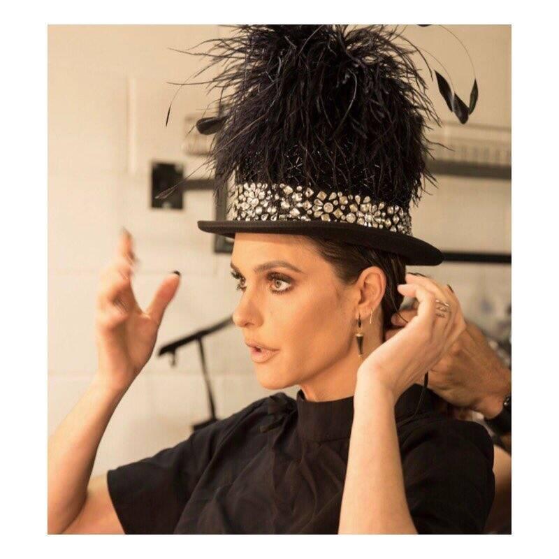 Fernanda Lima politizou em 2018 e mostrou que é uma das apresentadoras mais 'cool' do Brasil . Foto: Reprodução/Instagram
