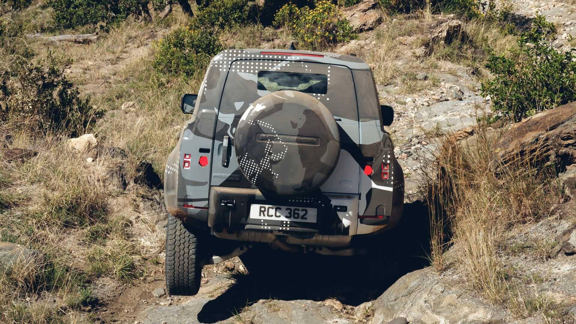 Land Rover Defender. Foto: Divulgação