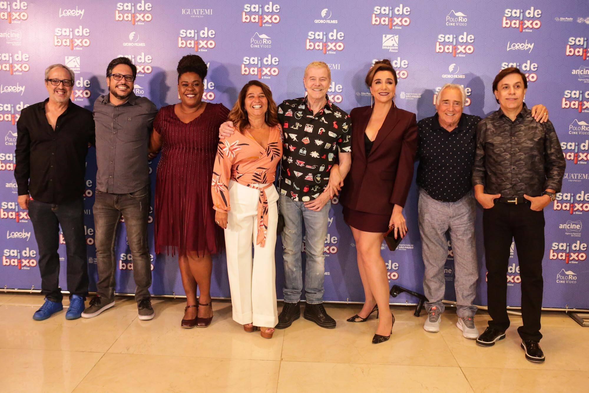 """Pré-estreia de """"Sai de Baixo"""" reúne famosos em São Paulo. Foto: Crédito: Lu Prezia"""