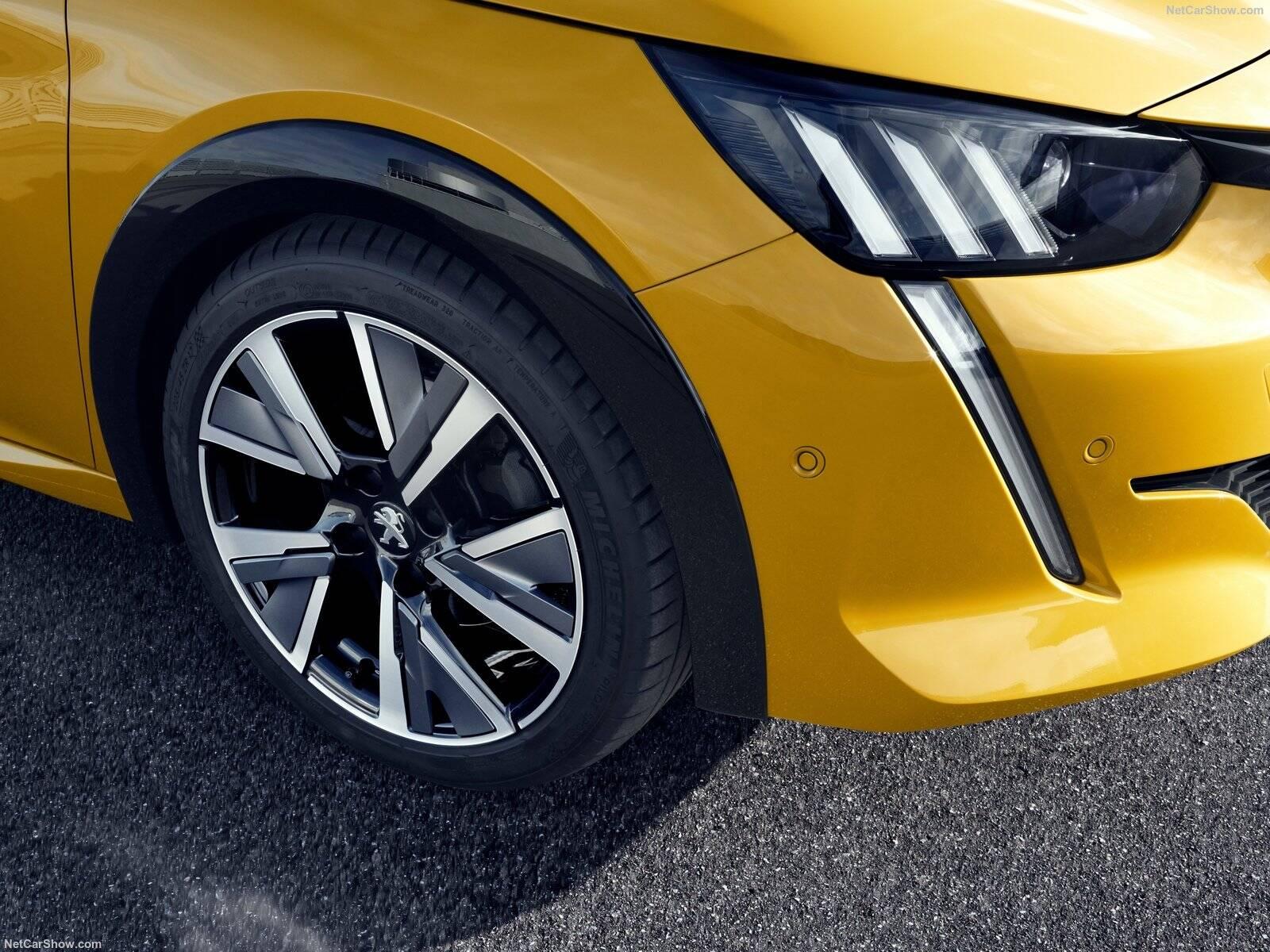 Peugeot 208. Foto: Divulgação