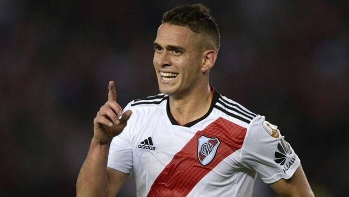 Sondado por clubes brasileiros, Borré está em fim de contrato com o River. Foto: Divulgação