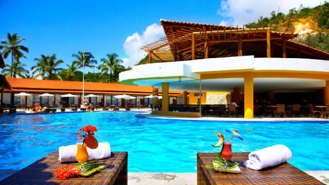 Porto Seguro Praia Resort oferece serviços All Inclusive. Foto: Zarpo