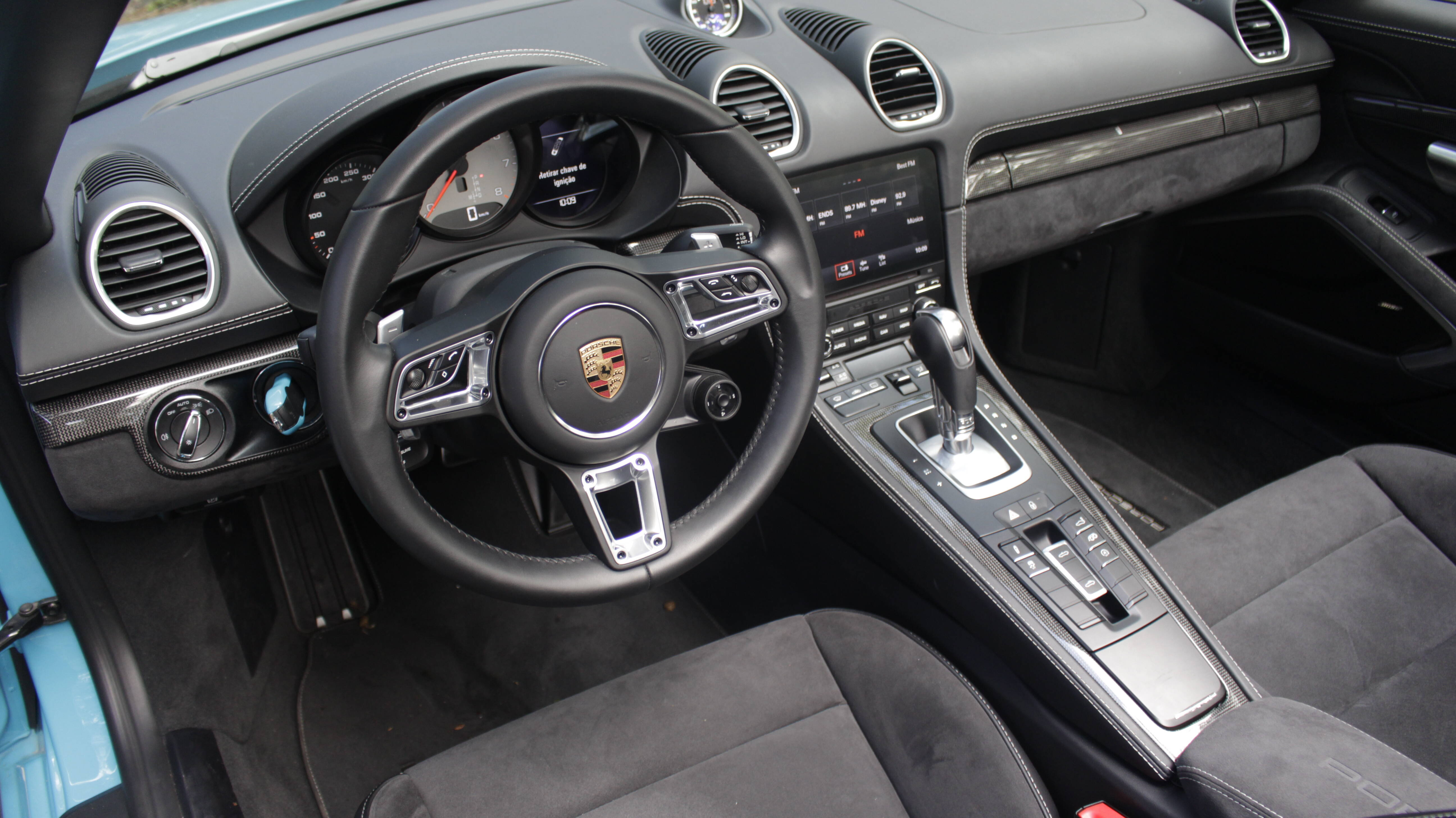 Porsche 718 Boxster GTS. Foto: Cauê Lira/iG Carros