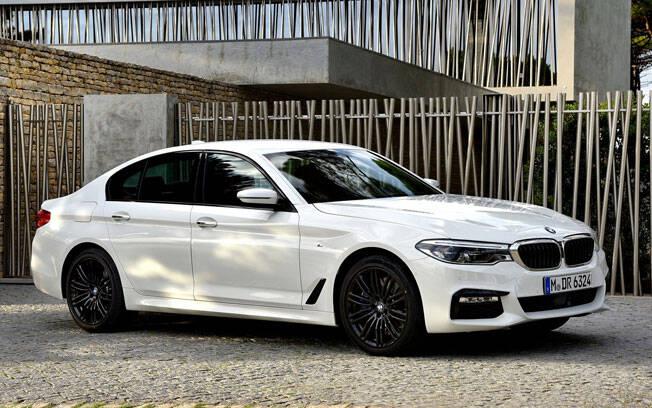 BMW Série 5. Foto: Divulgação