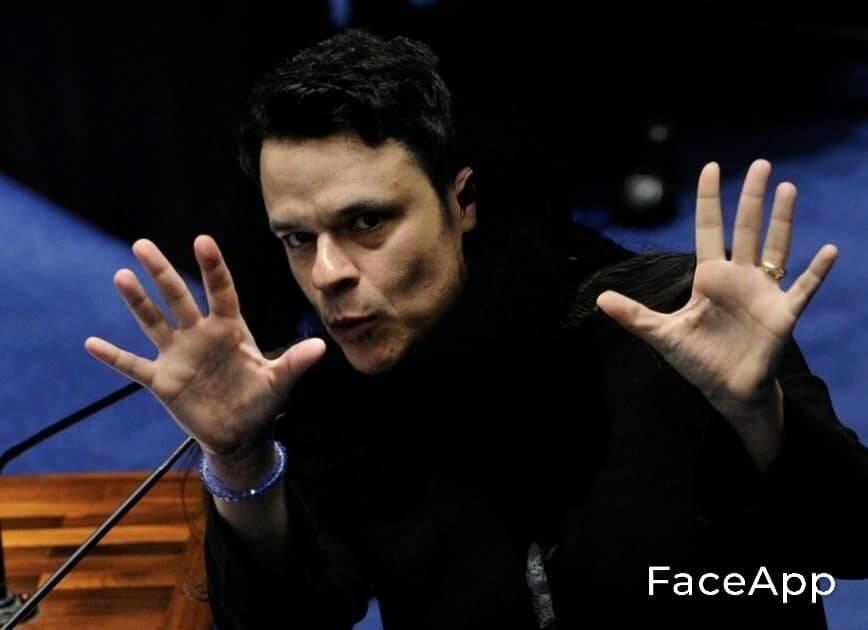 Jenoíno, o Bruxo Paschoal. Foto: Reprodução/Facebook