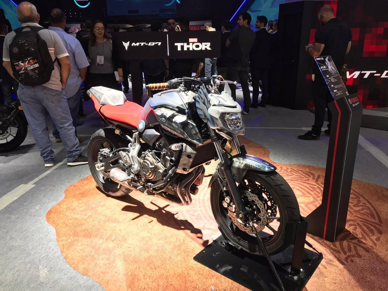 """Yamaha MT 07 """"Thor"""". Foto: Guilherme Menezes/iG"""