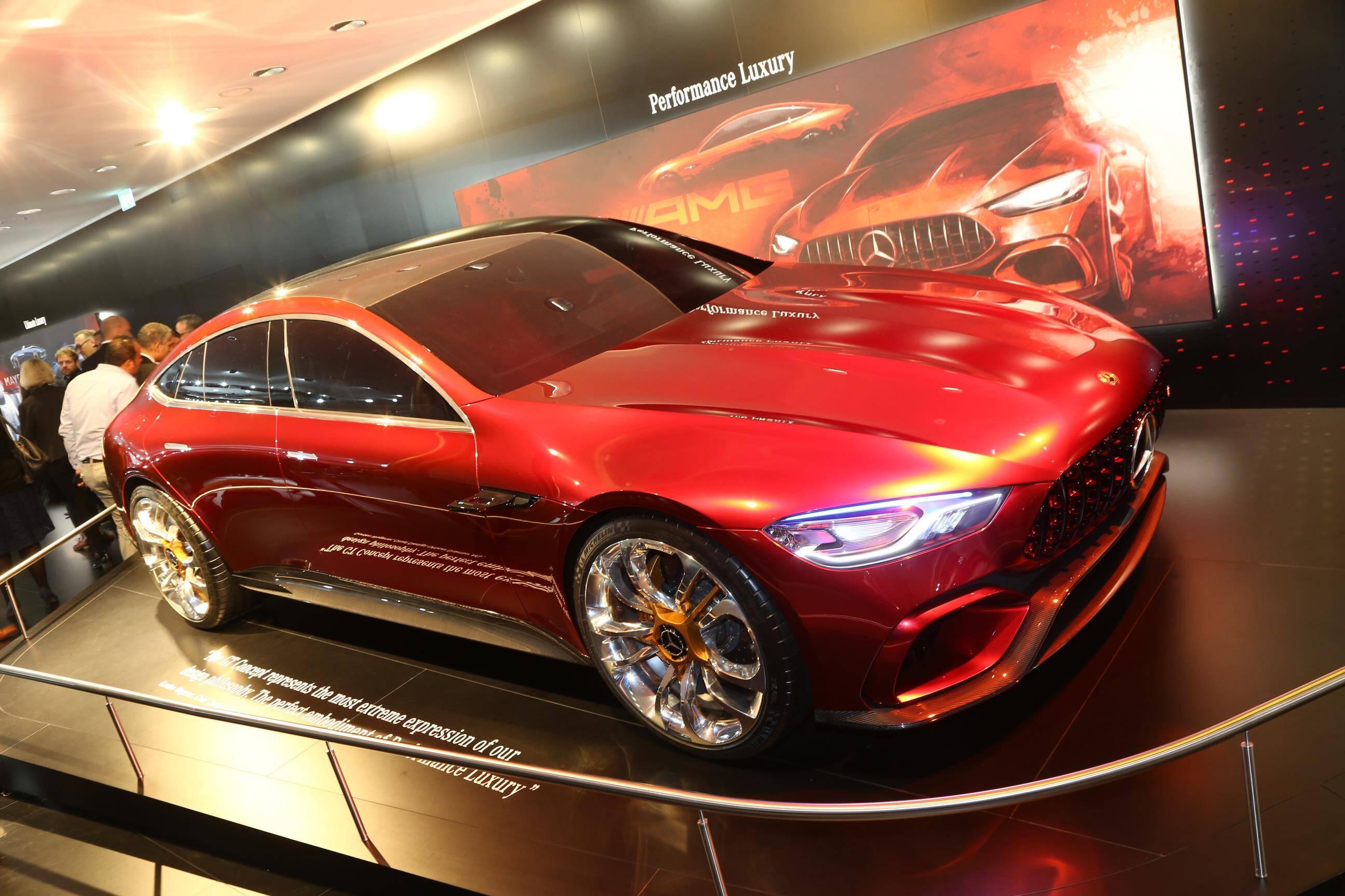 Mercedes AMG-Gt Concept. Foto: Newspress