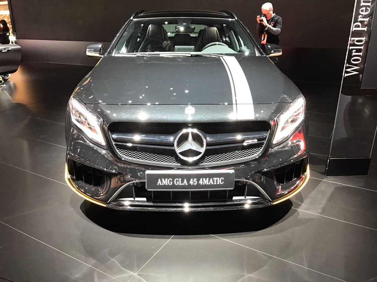 Mercedes-Benz GLA. Foto: André Jalonetsky/iG Carros