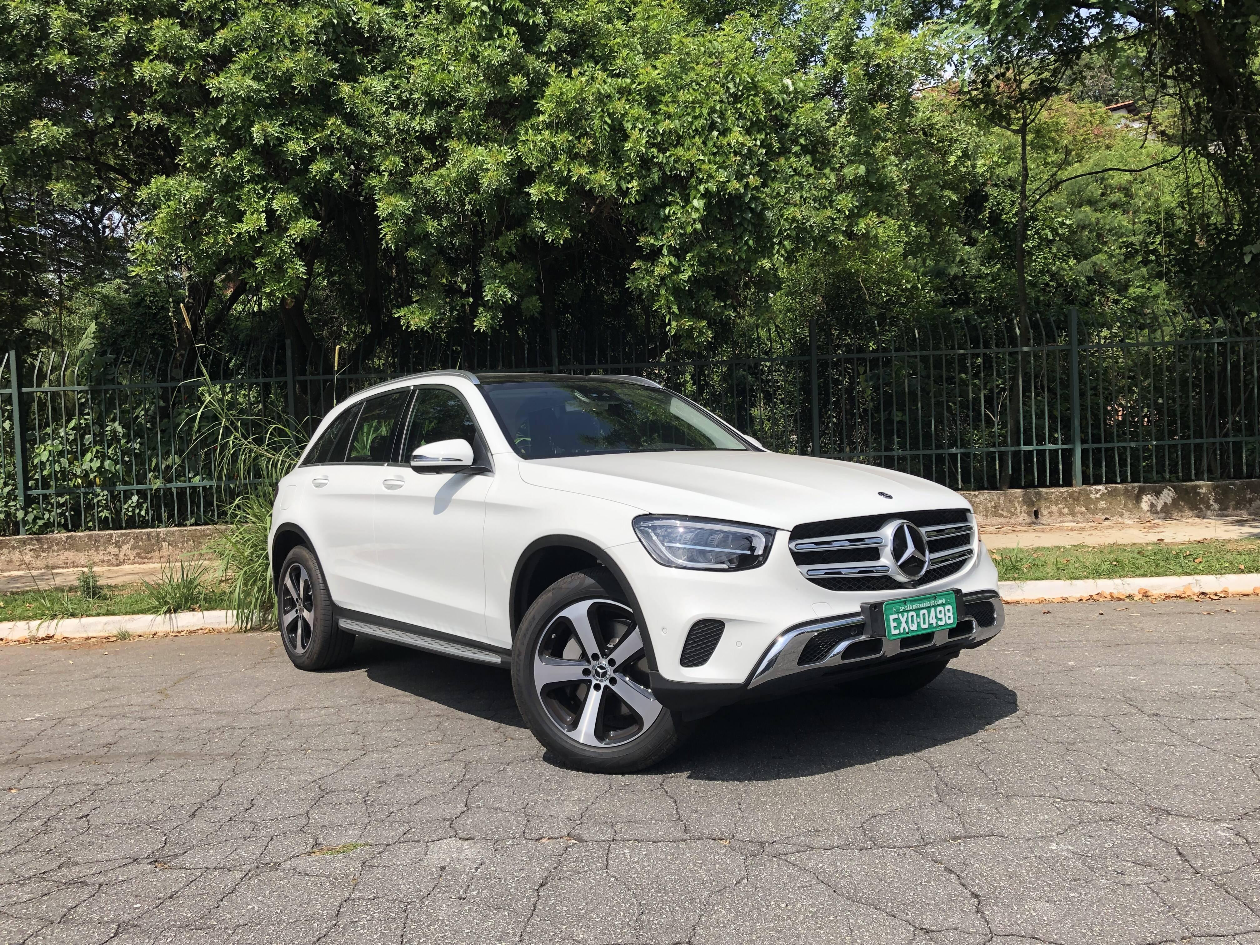 Mercedes-Benz GLC. Foto: Cauê Lira/iG Carros