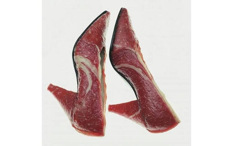 Sapatos inusitados. Foto: Reprodução/Instagram