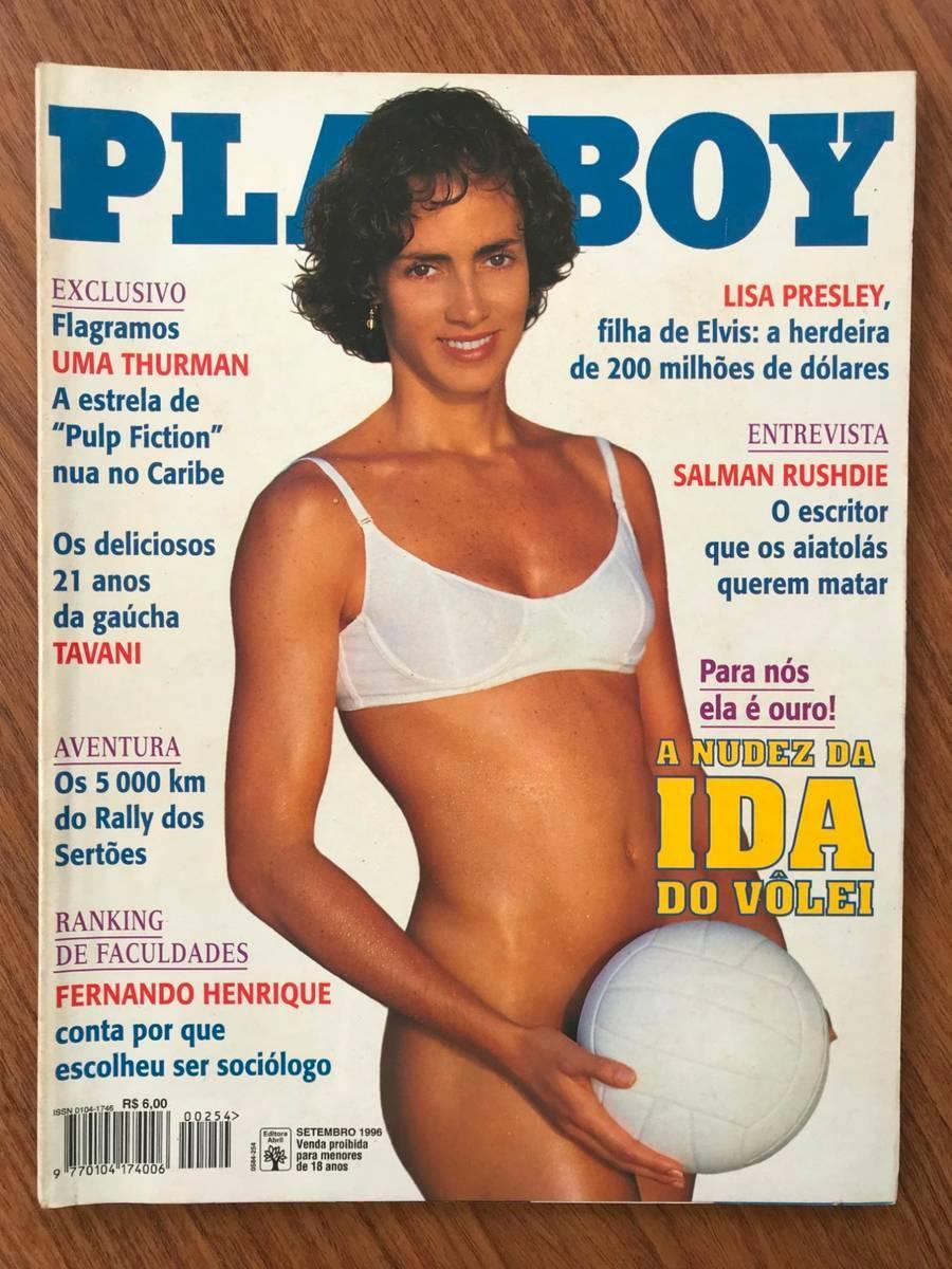 Capa da Playboy - Ida, jogadora de vôlei da seleção brasileira. Foto: Divulgação / Revista Playboy