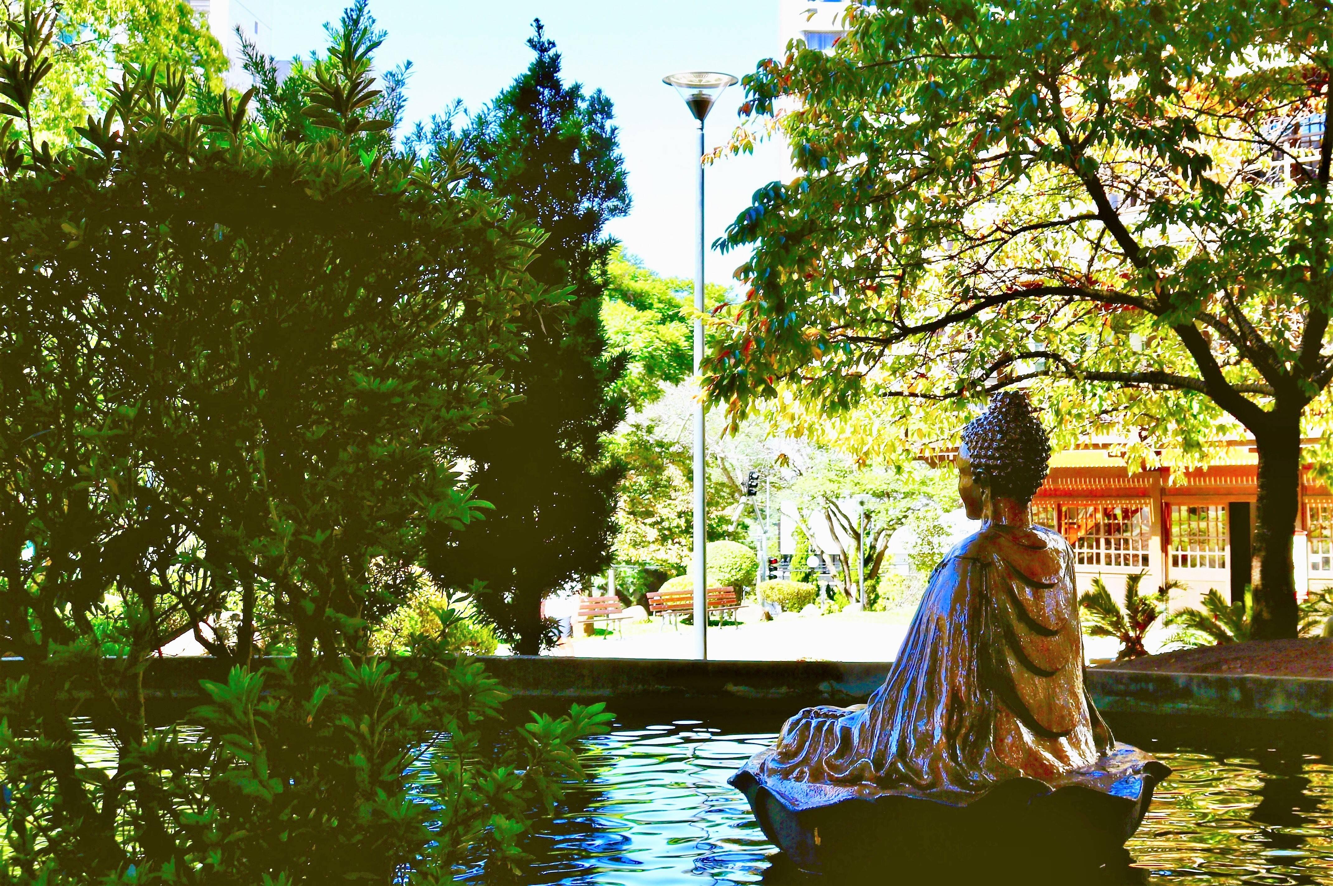 Praça do Japão. Foto: Valéria Rolim/CTUR