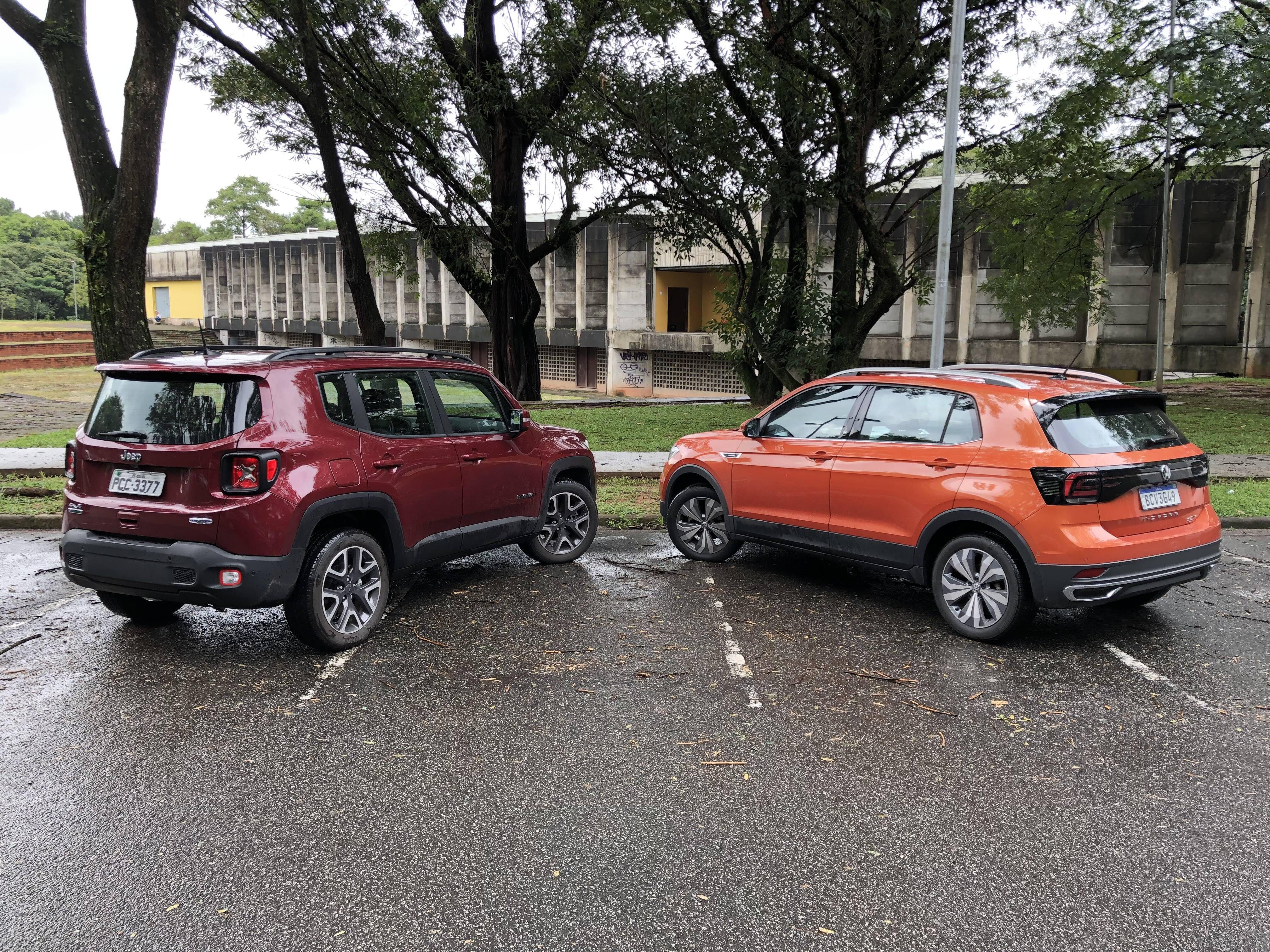 VW T-Cross . Foto: Caue Lira/iG