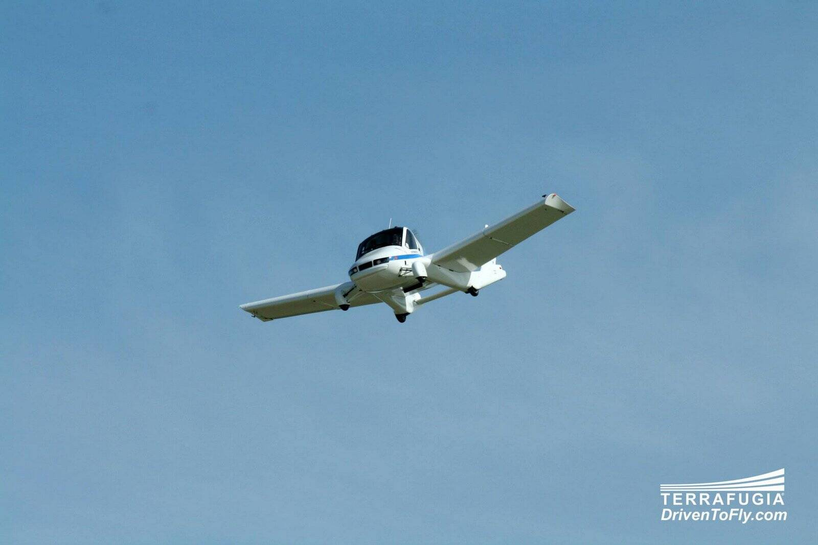 Carro voador. Foto: Divulgação