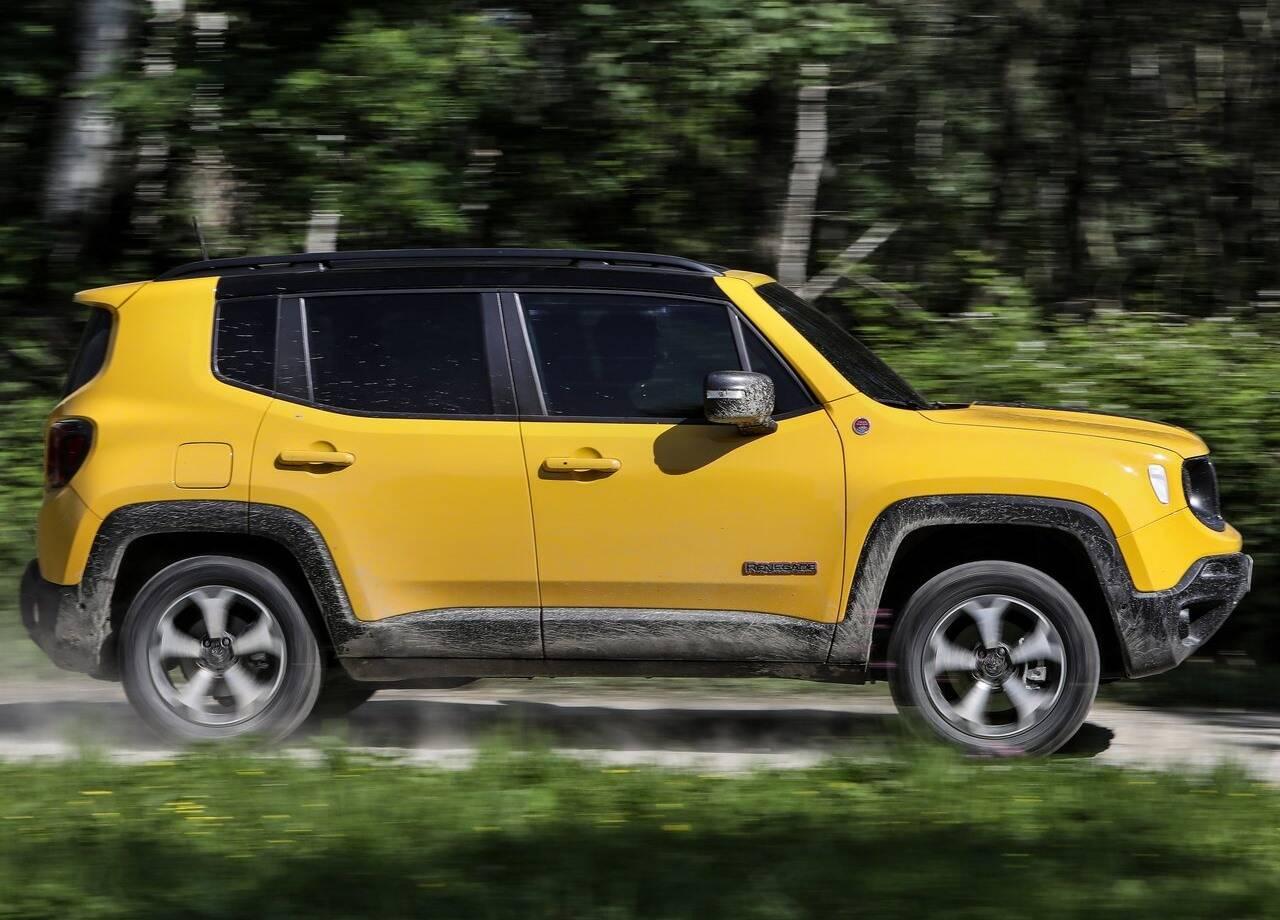 Novo Jeep Renegade Trailhawk. Foto: Divulgação