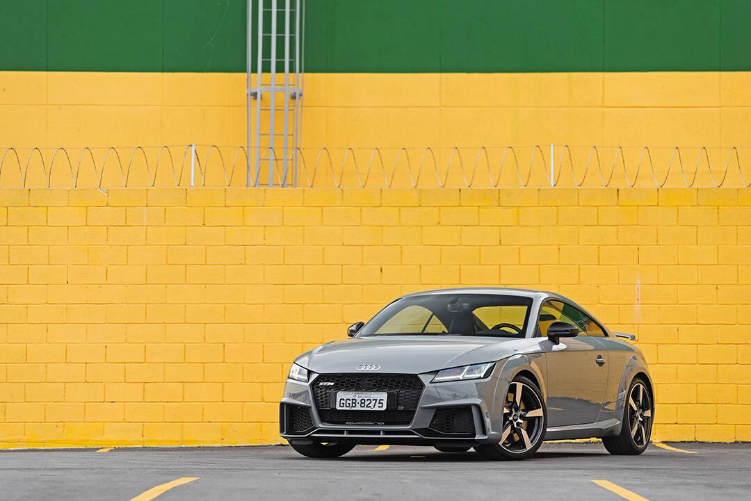 Audi TT RS. Foto: Divulgação