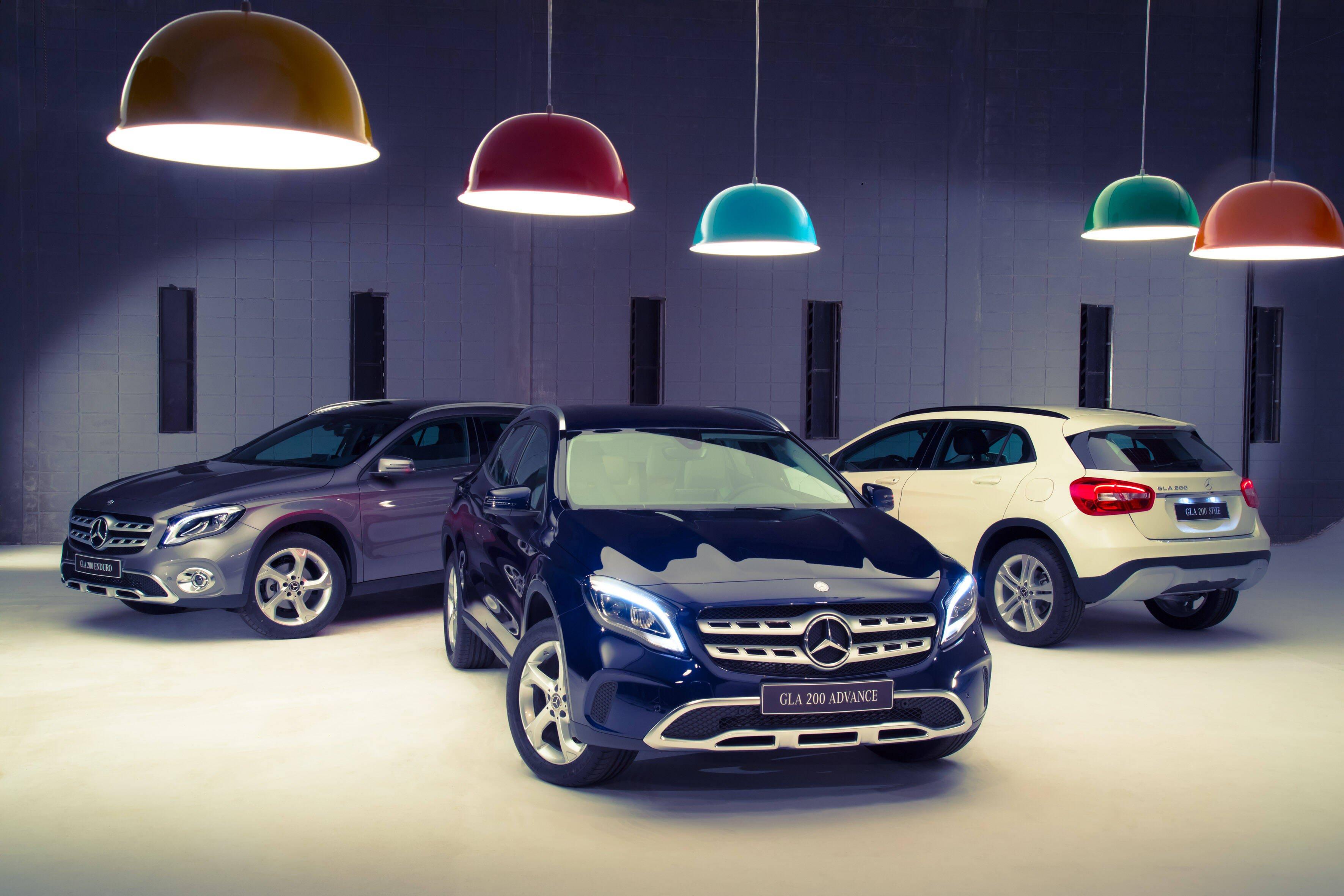 Mercedes-Benz GLA 2018. Foto: Divulgação