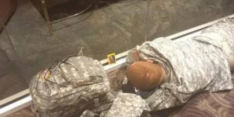 Vendo a foto de alguém enquanto está deitado na esteira. Pode isso!?. Foto: Reprodução/Internet