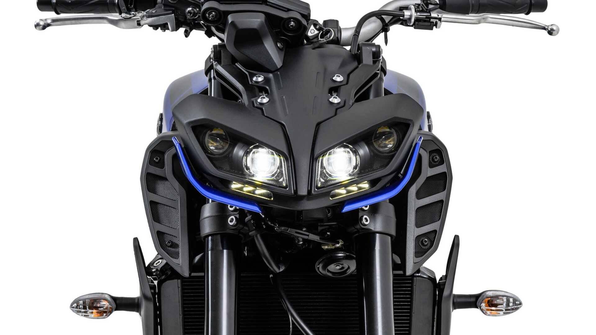 Yamaha MT-09. Foto: Divulgação