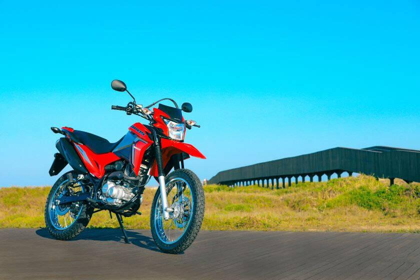 Honda NXR 160 . Foto: Divulgação