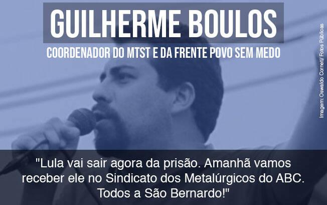 Eduardo e Carlos Bolsonaro, Manuela D'ávila, Joice Hasselmann, Renan Calheiros e Carla Zambelli comentam a liberdade do ex-presidente Lula.. Foto: Divulgação