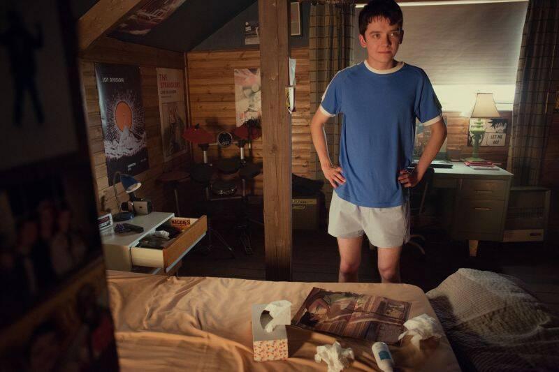Otis em seu quarto.. Foto: Reprodução/Netflix