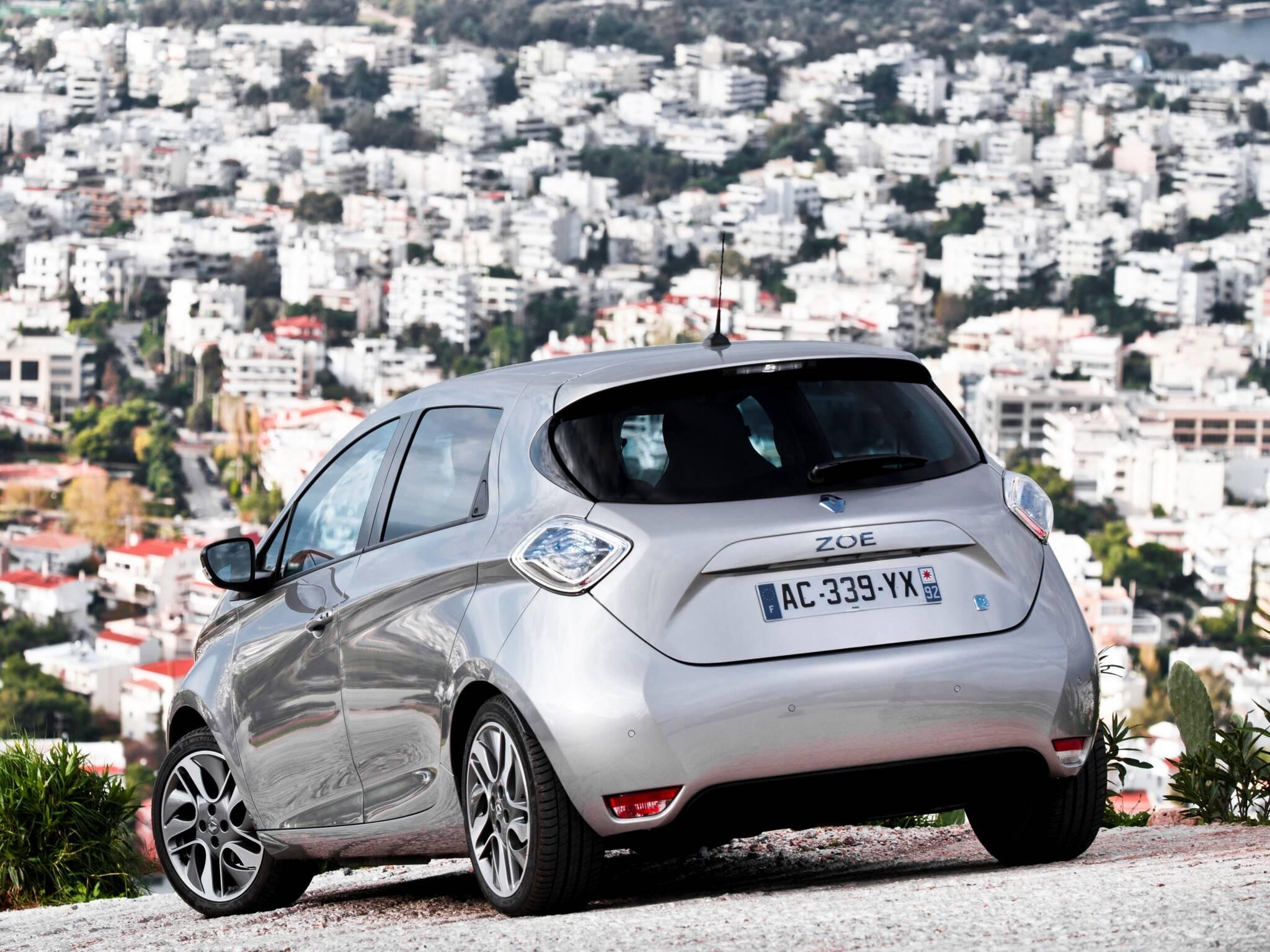 Renault Zoe. Foto: Divulgação