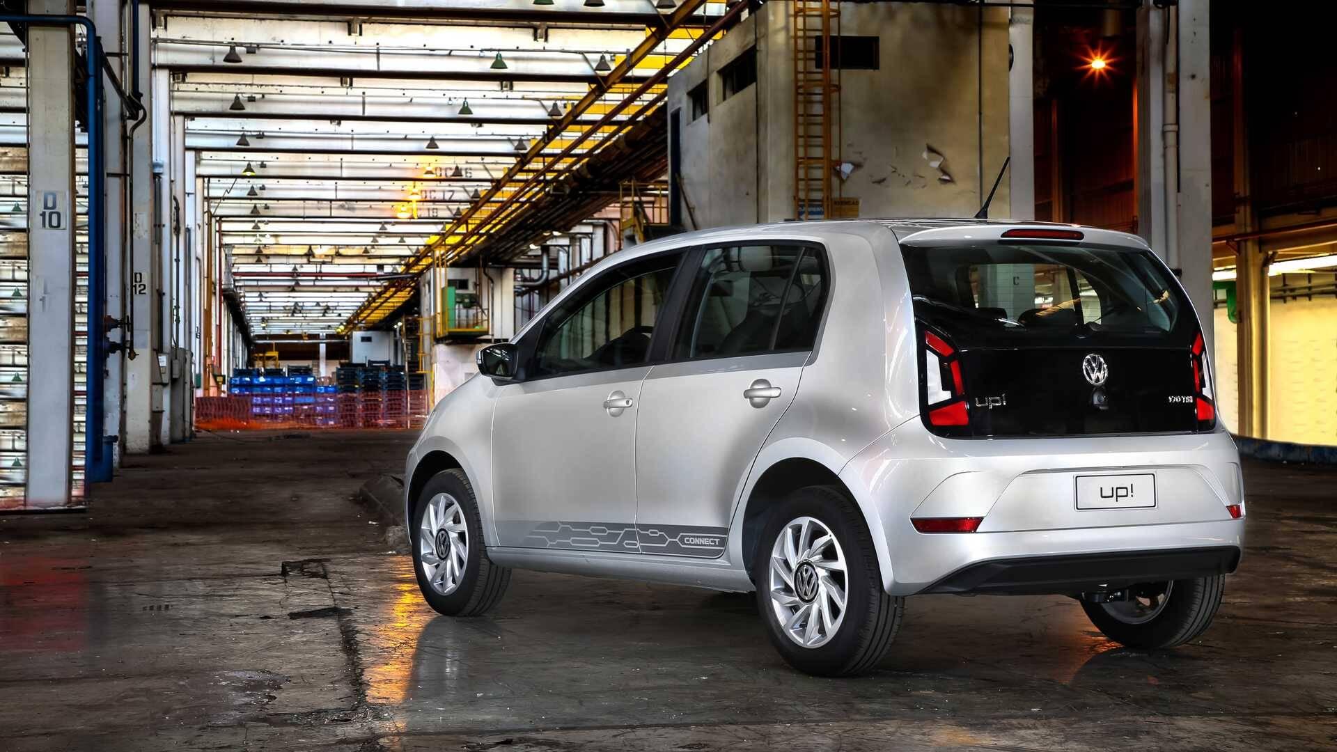 VW Up Connect. Foto: Divulgação