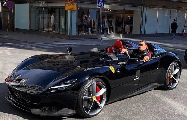 Ferrari Monza SP2 de Ibrahimovic é uma das criações mais exclusivas da marca. Foto: Divulgação/Ferdinando Piacezzi