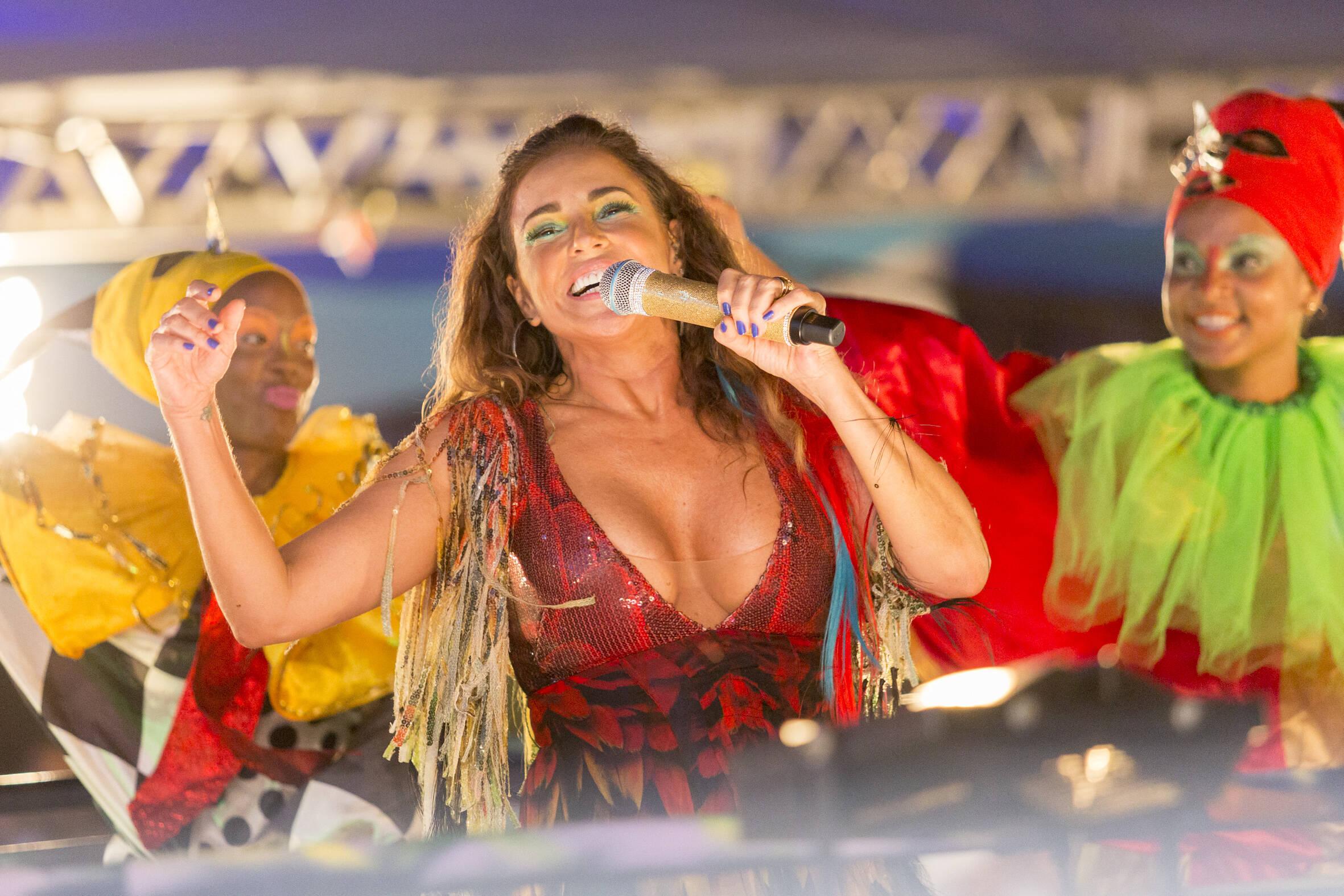 Daniela Mercury no Planeta Band em Salvador na segunda (12). Foto: Flickrs