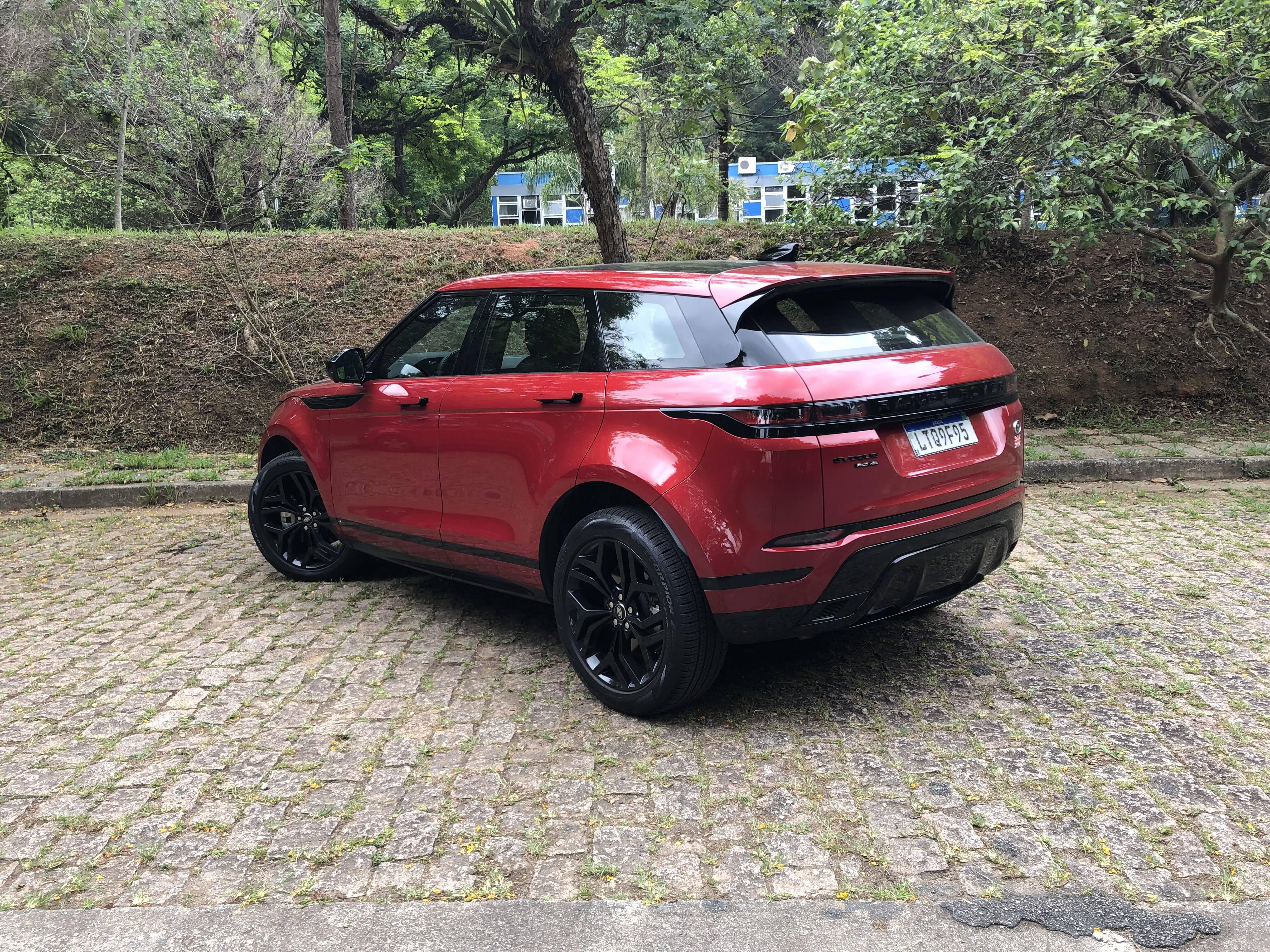 Range Rover Evoque. Foto: Cauê Lira/iG Carros