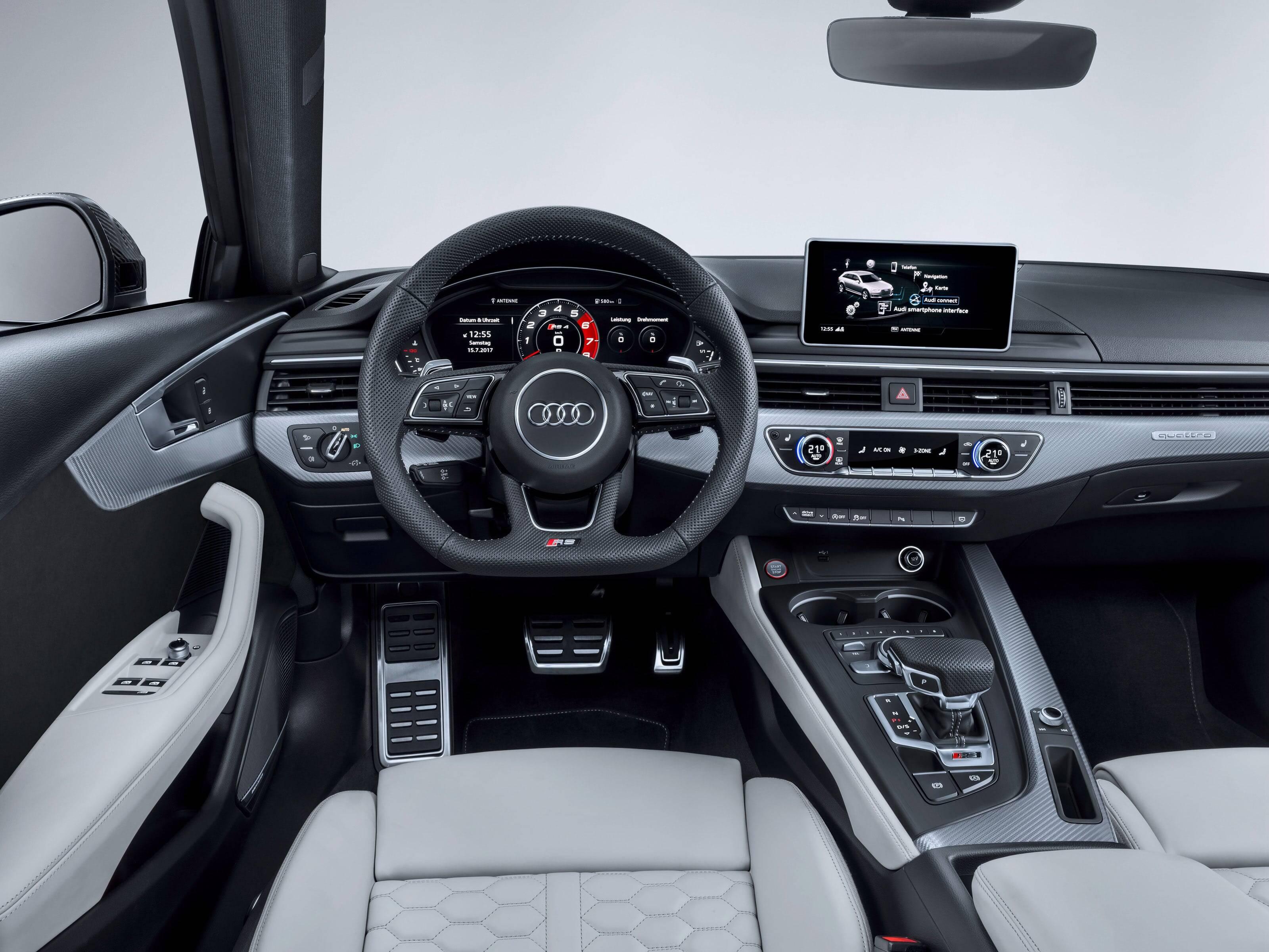 Audi RS4 Avant. Foto: Divulgação
