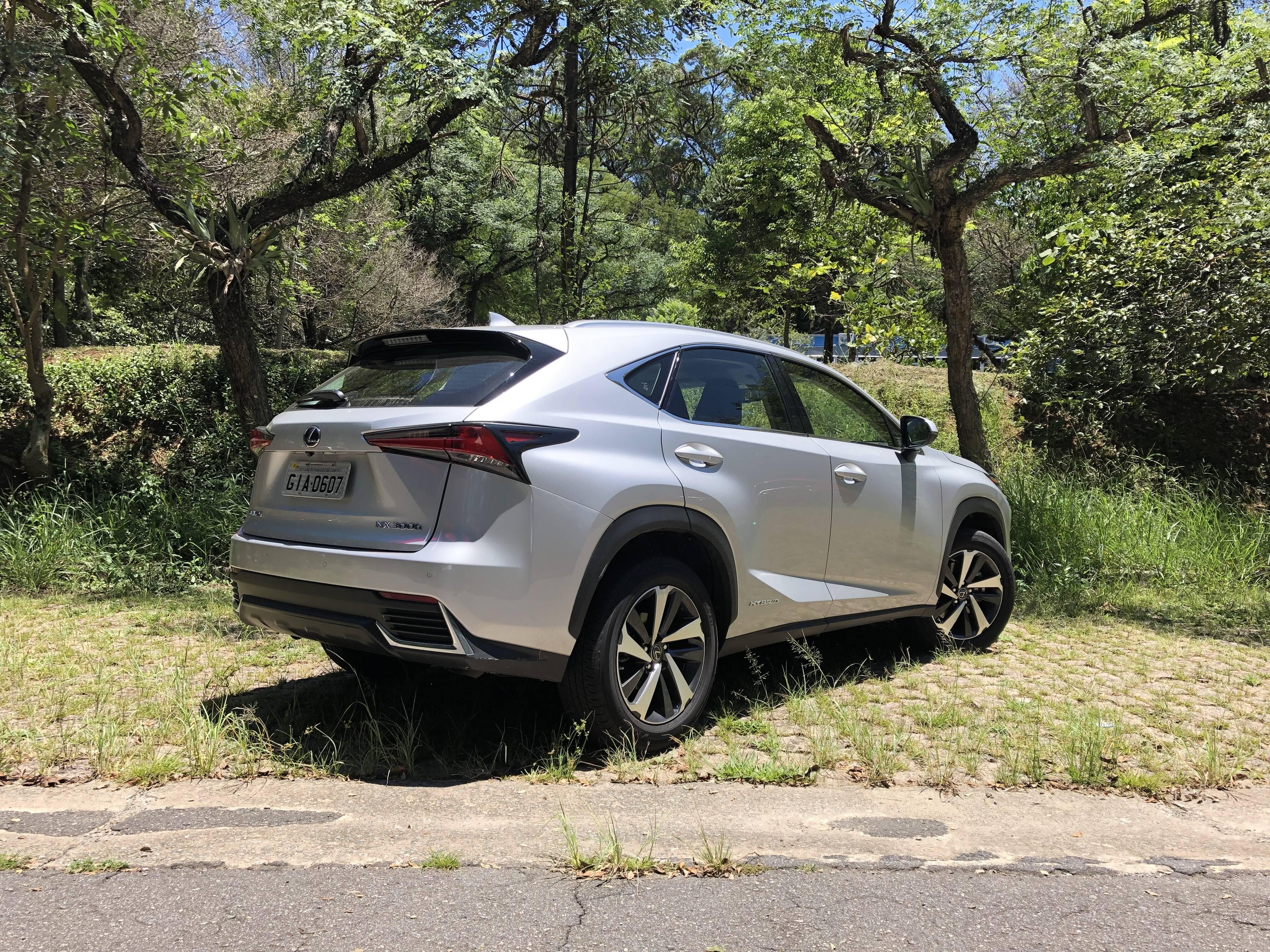 Lexus NX. Foto: Cauê Lira/iG Carros
