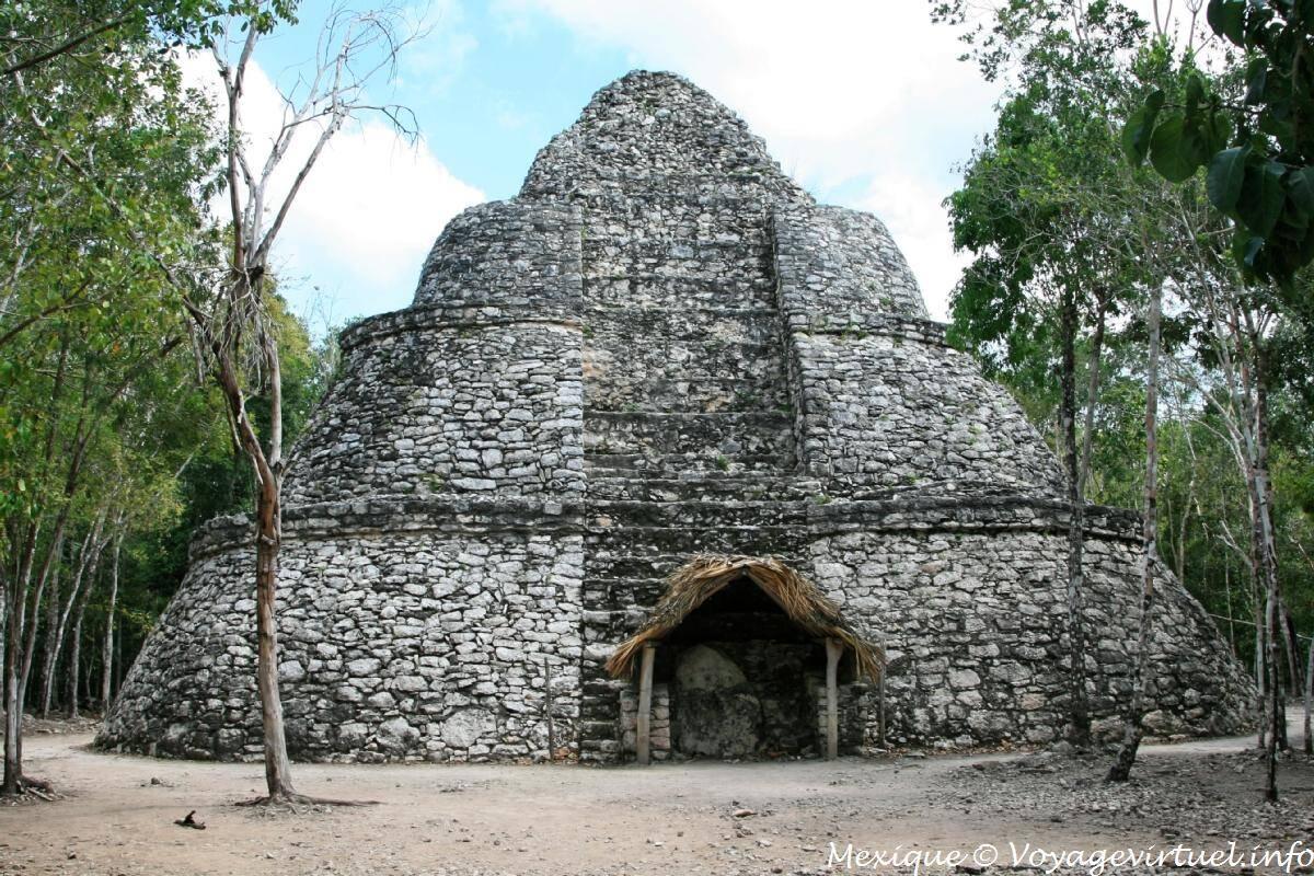 Ruínas Coba, no México. Foto: Reprodução