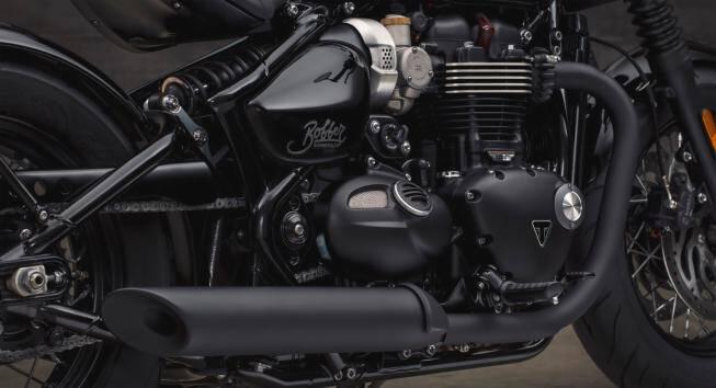 Triumph Bobber Black. Foto: Divulgação