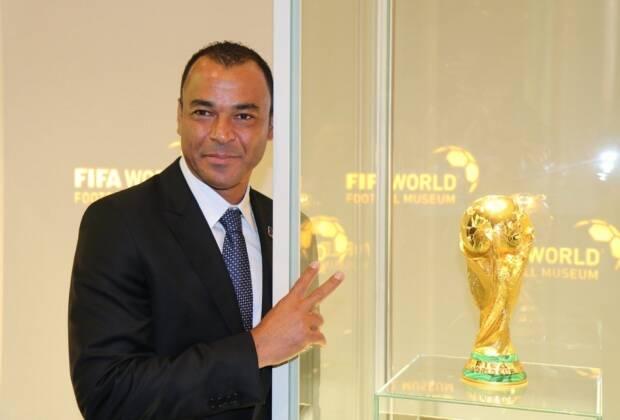 Cafu esteve presente na apresentação do museu da Fifa e comentou sobre eleições na entidade. Foto: Reprodução/Twitter