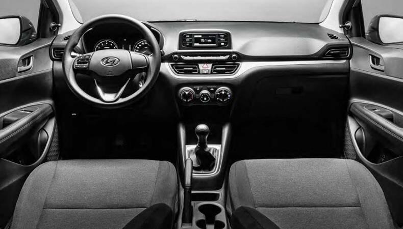Hyundai HB20 Sense 2022. Foto: Divulgação