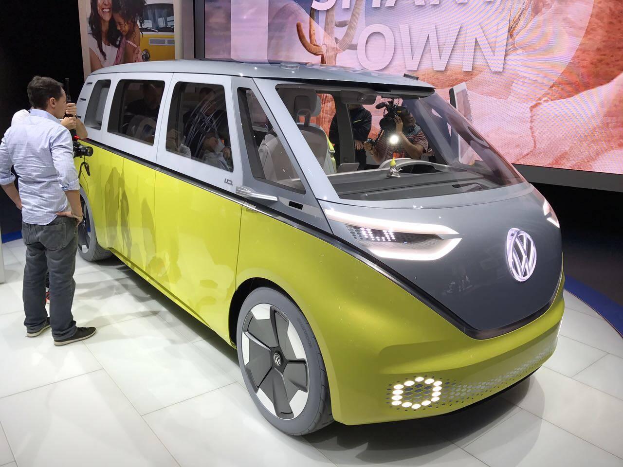 Volkswagen ID Buzz. Foto: André Jalonetsky/iG Carros