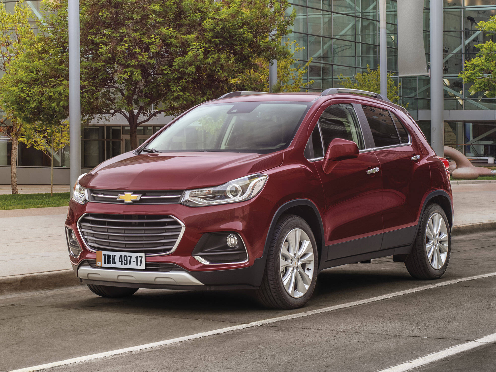 Chevrolet Tracker 2017. Foto: Divulgação/General Motors