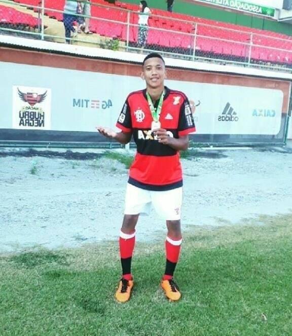 Athila Paixão era um dos jogadores do Flamengo. Foto: Reprodução