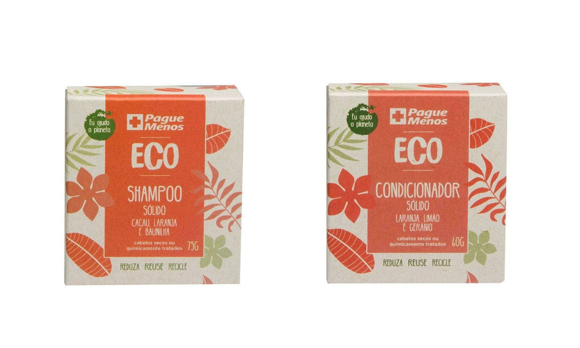 Shampoo e sabonete em barra ECO - R$ 34,99. Foto: Divulgação