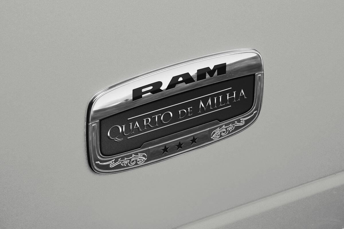 Ram 2500 Quarto de Milha . Foto: Divulgação
