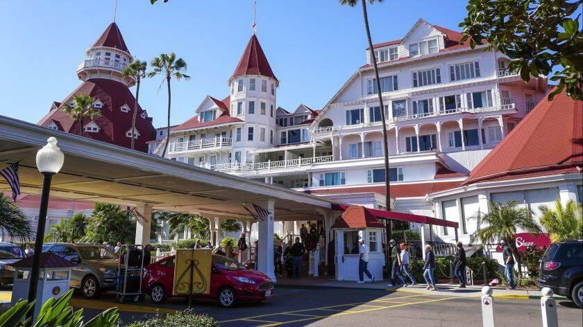 Hotel del Coronado, em San Diego. Foto: The San Diego Union-Tribute